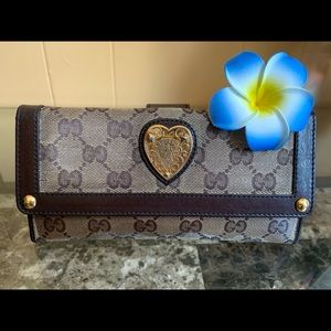 🌸AUTH GUCCI HYSTERIA WALLET🌸